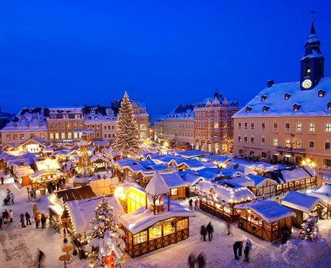 Weihnachten im Erzgebirge, Weihnachtsmarkt in Annaberg-Buchholz